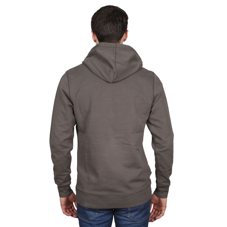 Butcher of Blue hoodie grijs achterkant