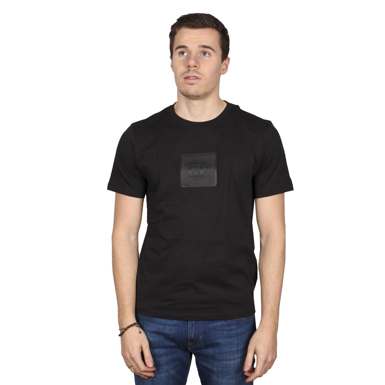 C.P. company logo t-shirt zwart