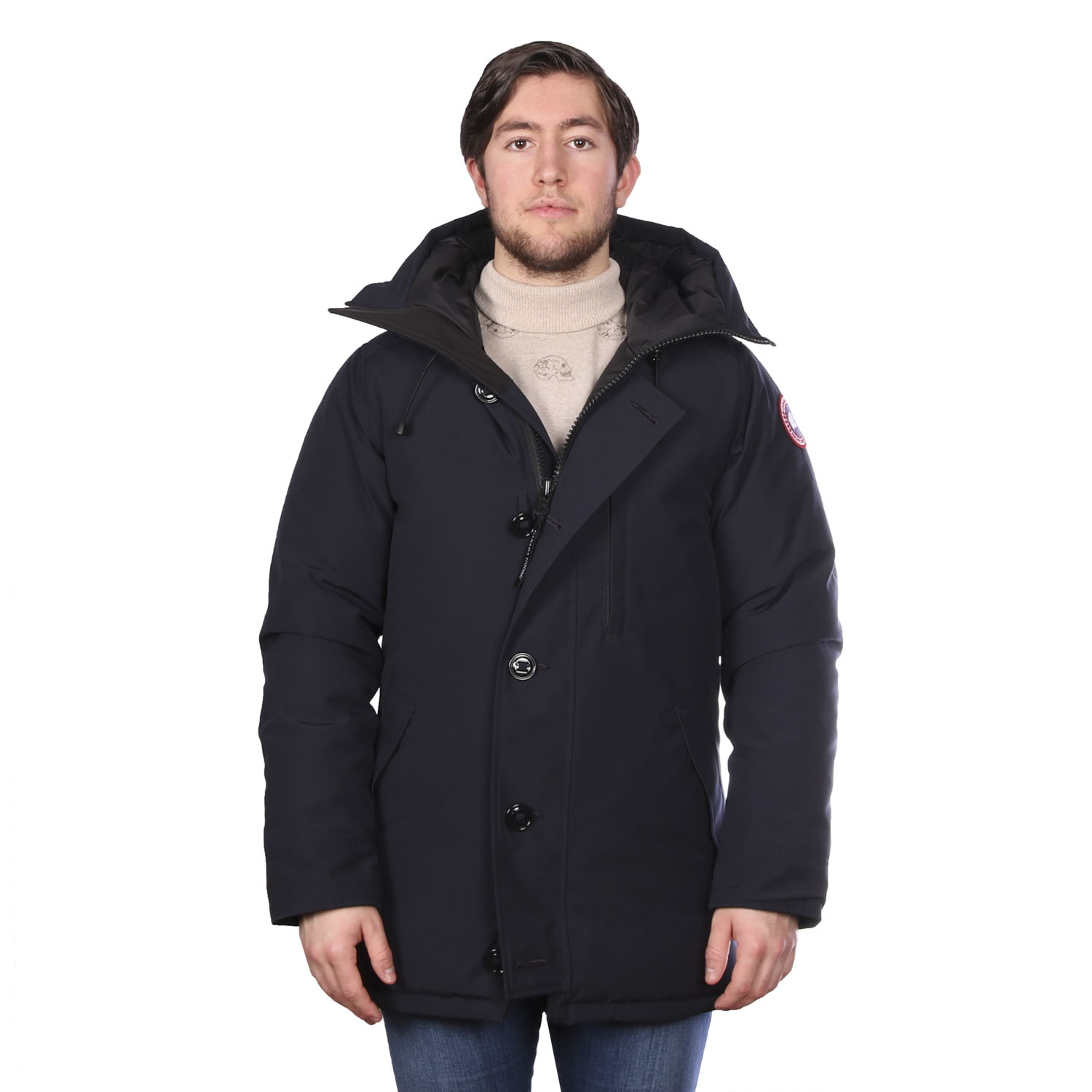 Cananda Goose chateau navy voor