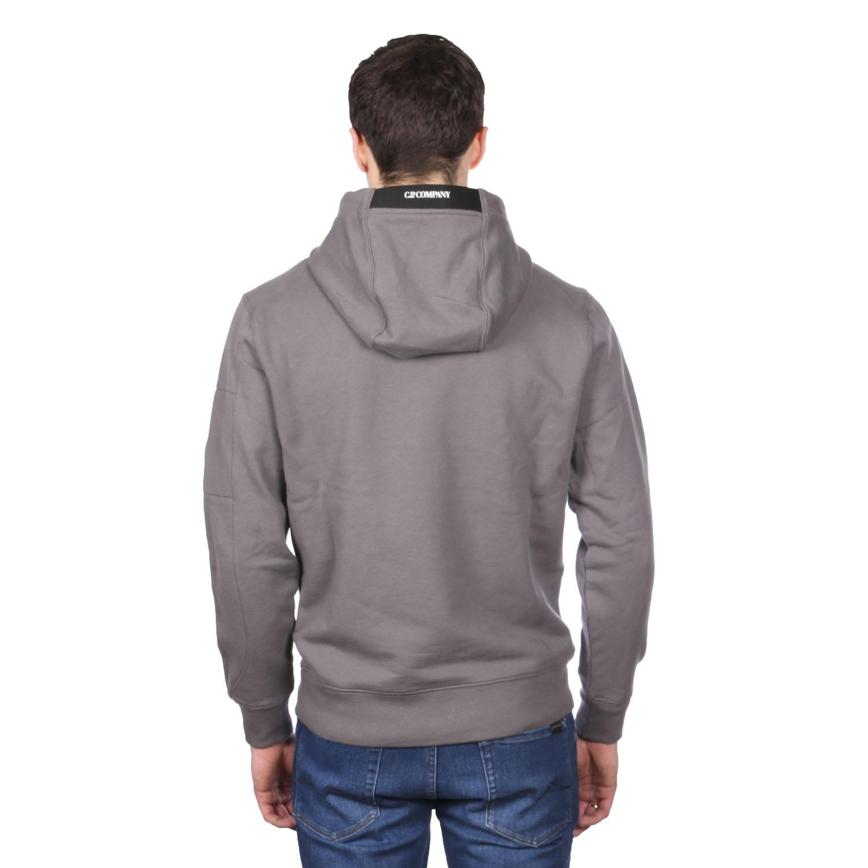 C.P. Company hoodie donkergrijs achterkant