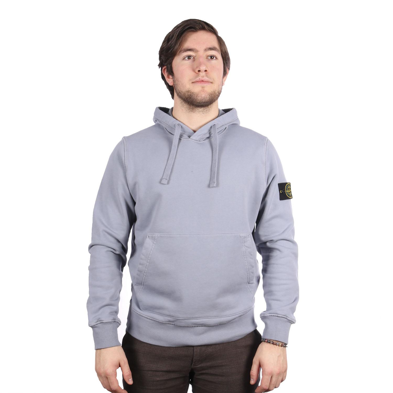 Stone Island hoodie grijs blauw