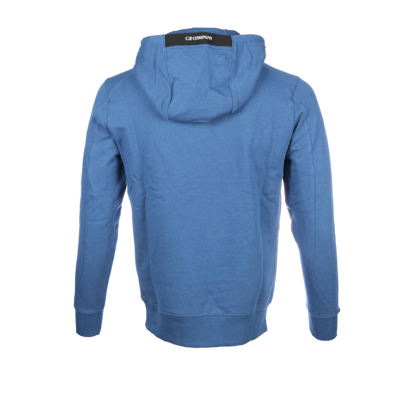 C.P. company hoodie blauw achter
