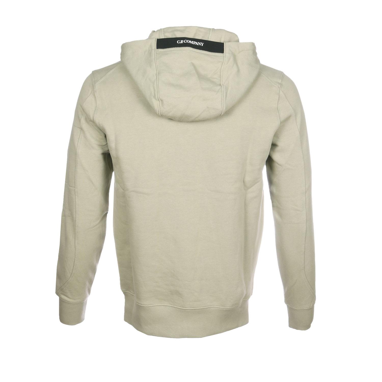 C.P. hoodie licht groen achter