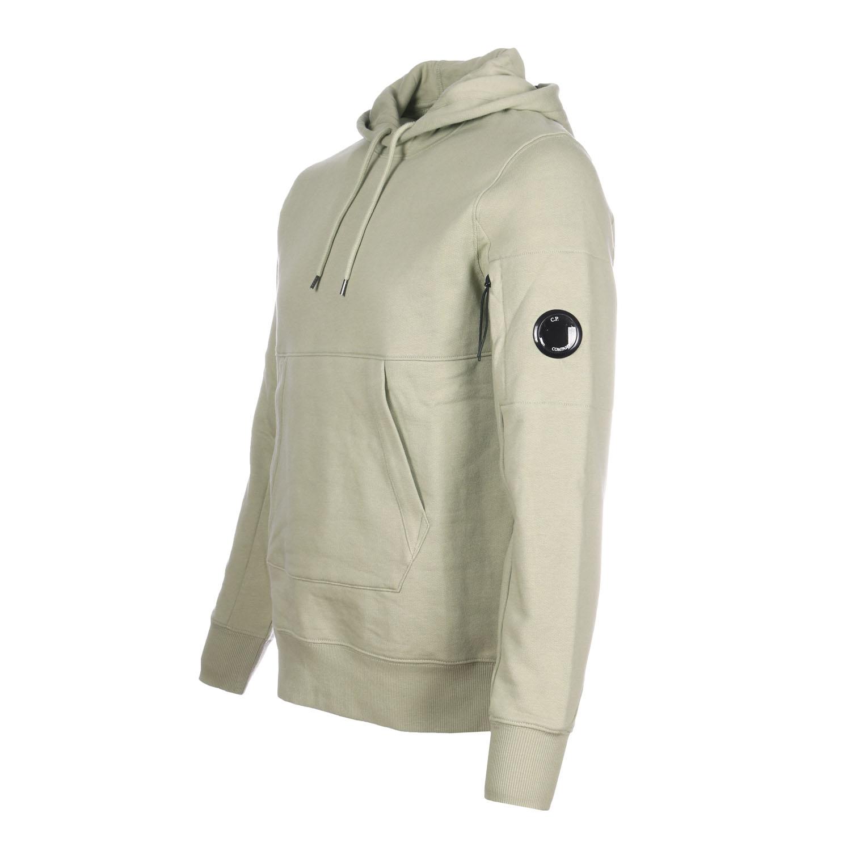 C.P. hoodie licht groen zij