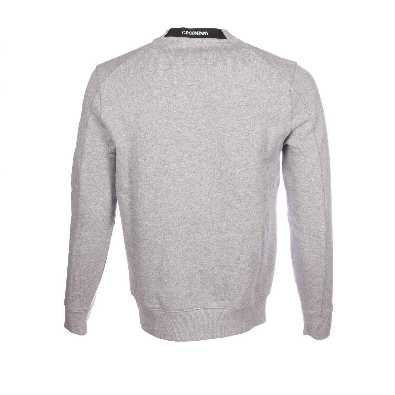 C.P. company sweater grijs melange achter