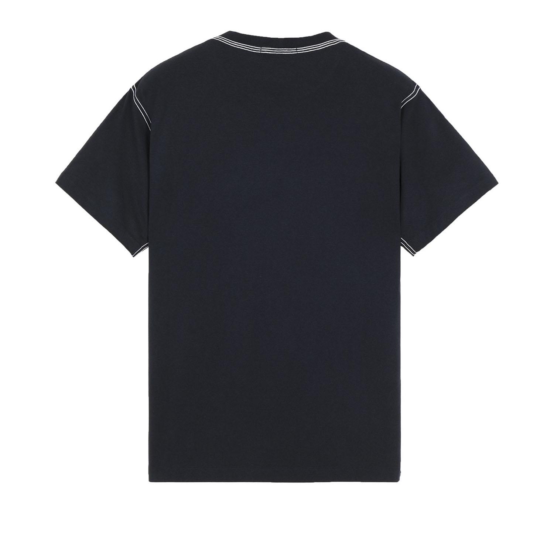 Stone island t-shirt donkerblauw achter