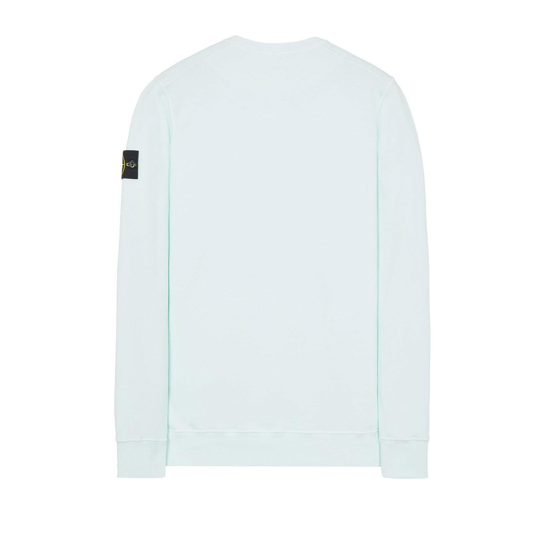 Stone Island sweater trui mintgroen achter