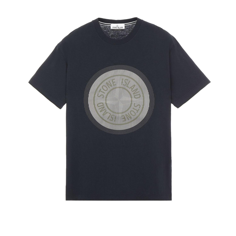 Stone Island t-shirt ns89 donkerblauw