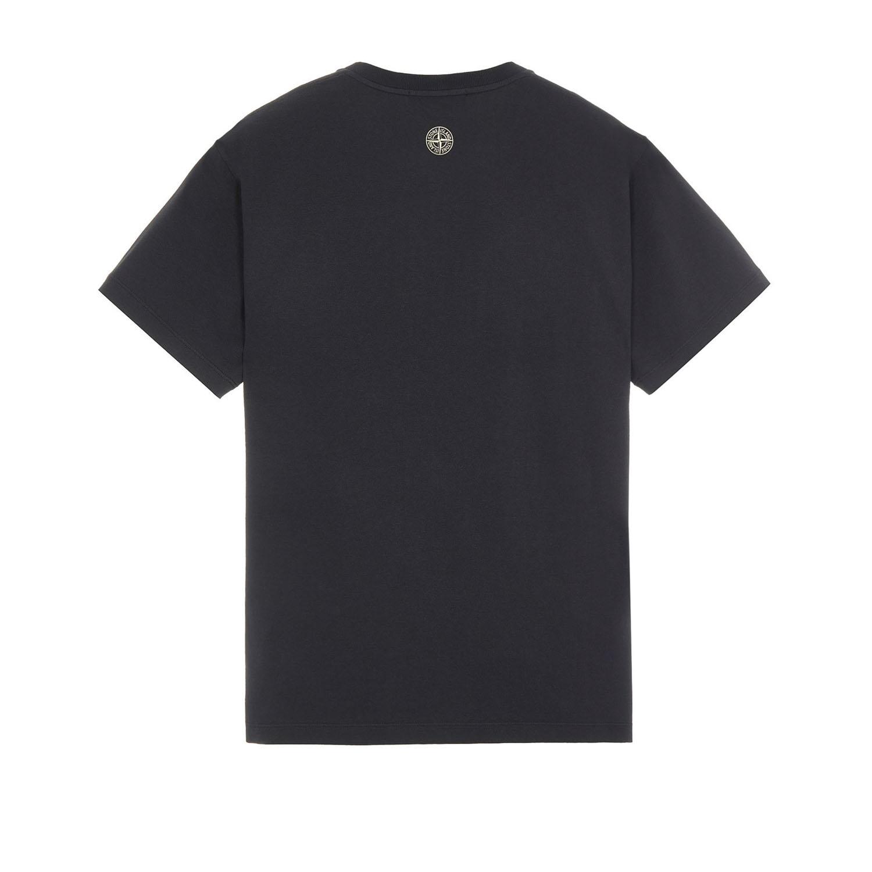 Stone island t-shirt 2ns82 zwart achter
