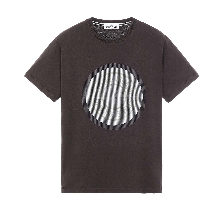 Stone Island t-shirt donkerbruin
