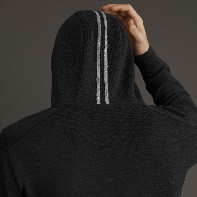 Canada Goose hoodie zwart achter