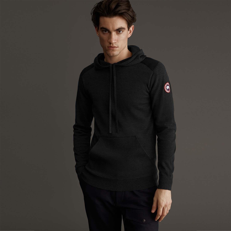 Canada Goose hoodie zwart voor