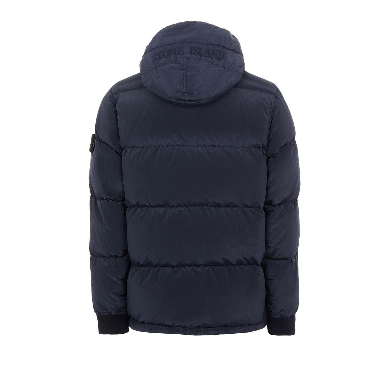 Stone Island jas donkerblauw achter
